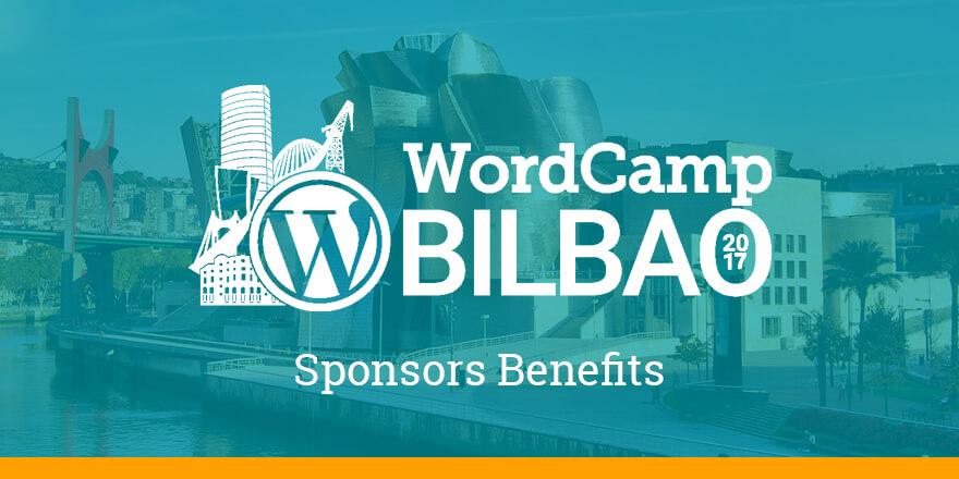 Sponsors Benefits - WCBilbao 2017