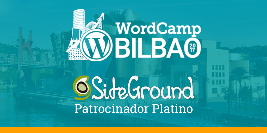 SiteGround - WordCamp Bilbao 2017
