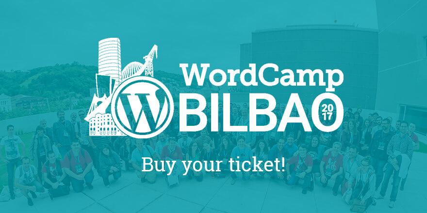 Buy your Ticket - WordCamp Bilbao
