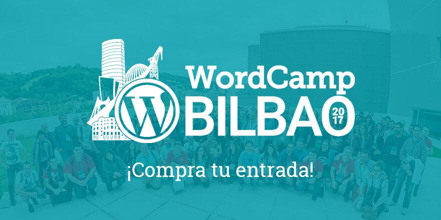 Compra tu Entrada - WordCamp Bilbao
