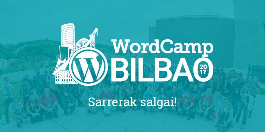 Sarrera Salgai - WordCamp Bilbao