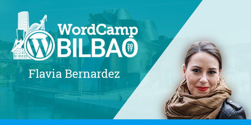 Flavia Bernárdez - WordCamp Bilbao