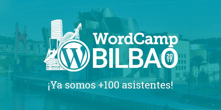 Más de 100 asistentes - WordCamp Bilbao